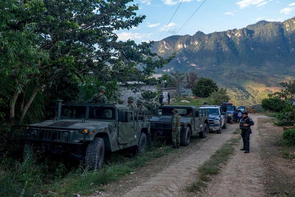 Foto Militares en la Base de Operaciones Mixtas en Coco Aldama_Frayba_ 2