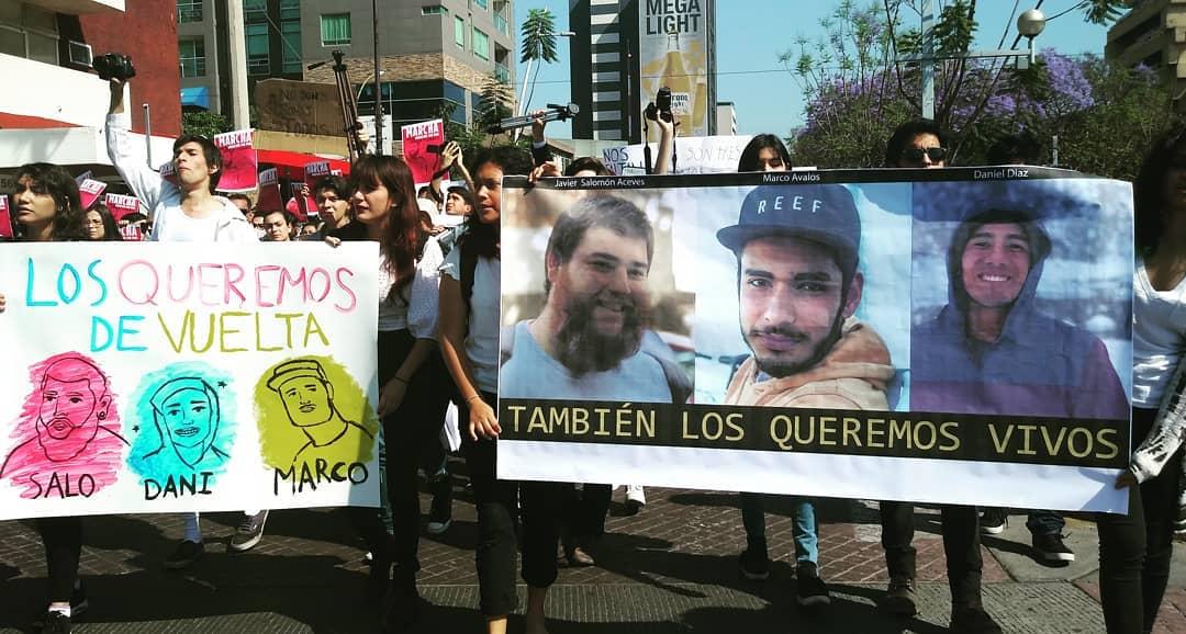 Convocan a manifestación a un año de la desaparición de los estudiantes del CAAV