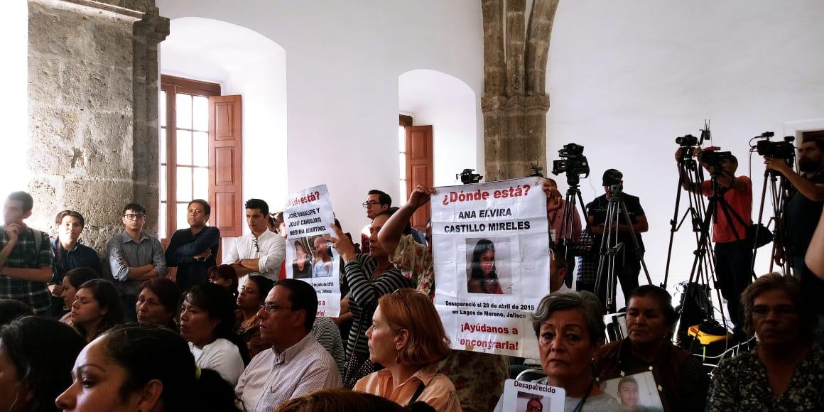 Alfaro presenta estrategia para buscar a 7 mil 117 desaparecidos