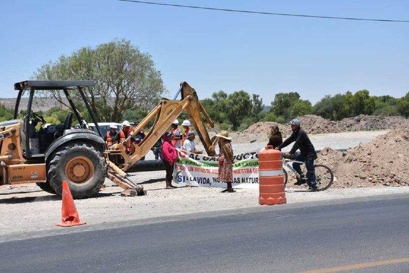 Policía estatal detiene a dos opositores al gasoductos en Lagos de Moreno, Jalisco