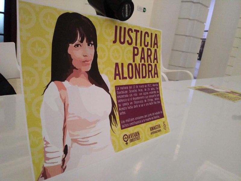 Una luz de justicia para la familia de Alondra, capturan a su feminicida