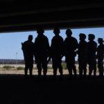 Galería: 'El muro humano' en la frontera con EU