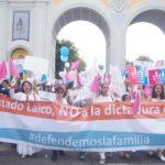 """Marchar """"a favor de la vida"""", pero en contra de los derechos humanos"""