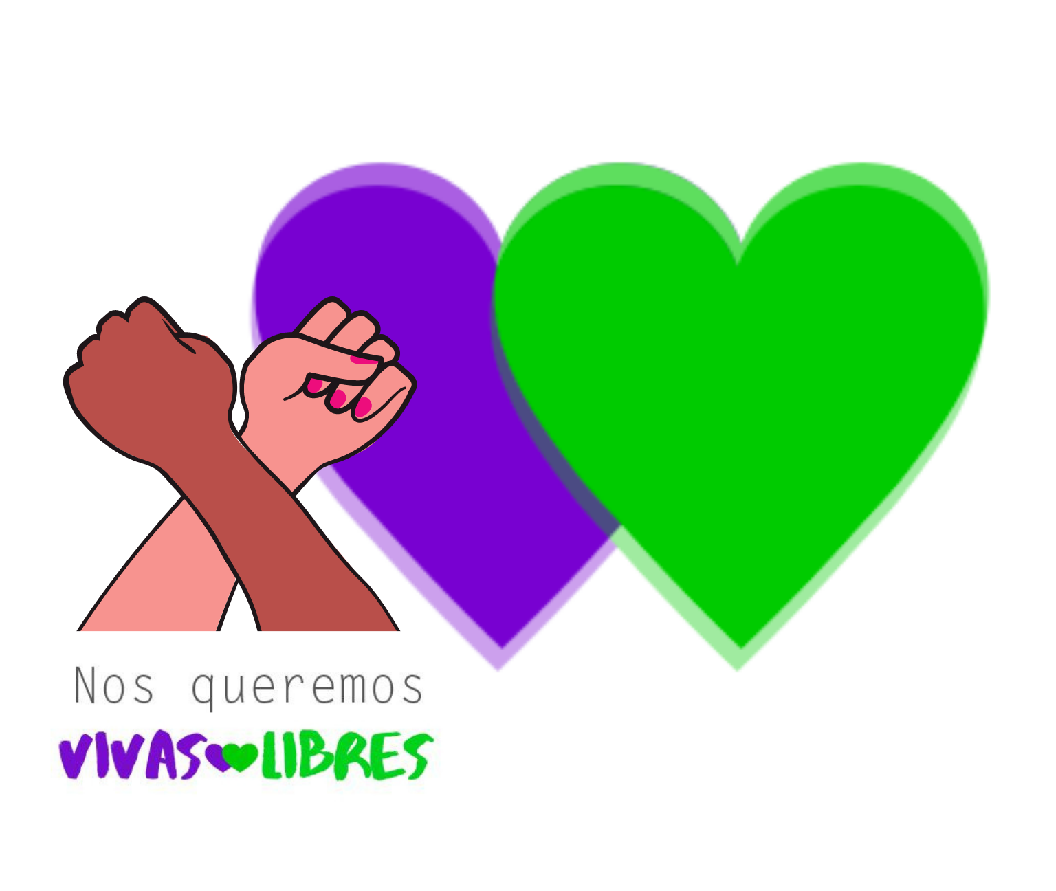 """Campaña """"Mujeres vivas y libres"""": El movimiento verde y violeta se unen para evidenciar el incremento de la violencia de género en México"""