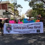 En Cuernavaca, Morelos, cientos exige Justicia para Samir Flores