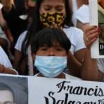«Nos faltará Glorieta»: acción memorial y colocación de losetas de búsqueda