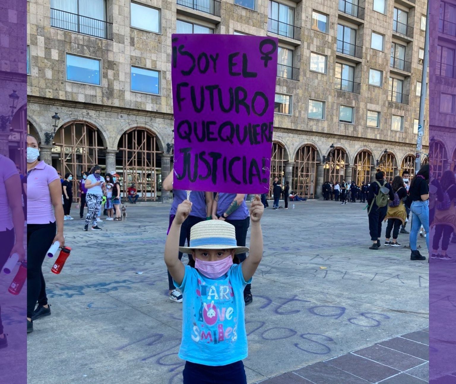 """""""No proteger a las niñas es no pensar en el futuro"""""""